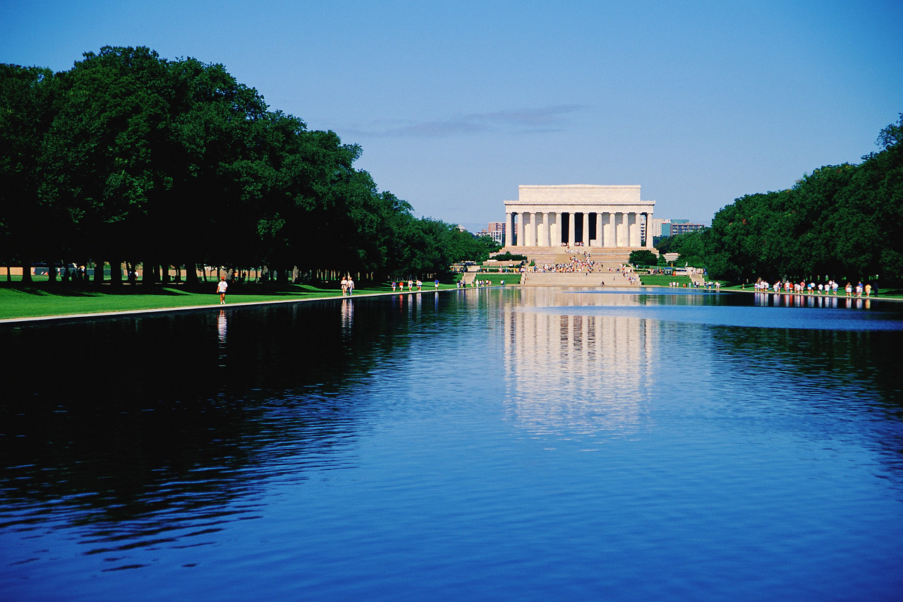Lincoln Memorial and the Reflecting Pool