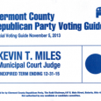Here is the voter guide for the November 5th, 2013 Election (click here or on image to download PDF):